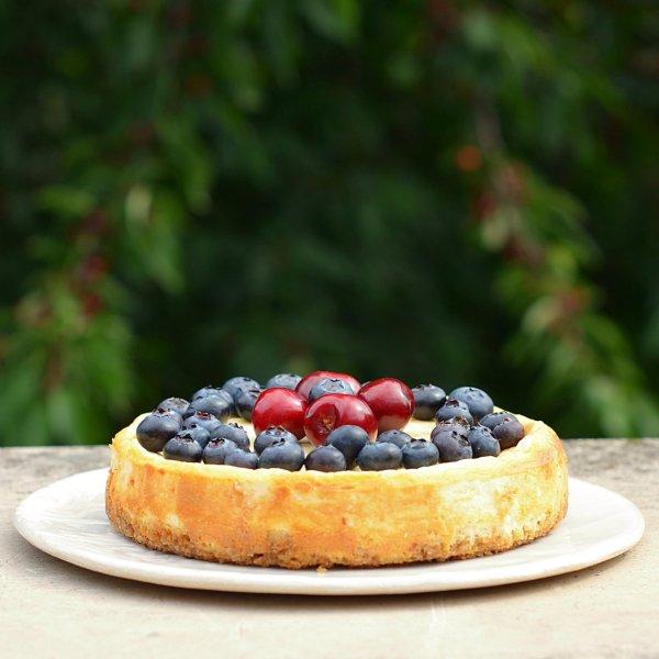 cukormentes cseresznyés sajttorta recept