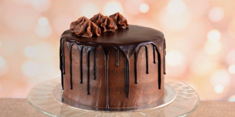 Nutellás torta csurgatva