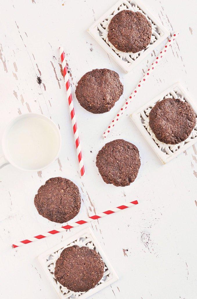 teljes kiőrlésű csokis keksz recept gyorsan és egyszerűen