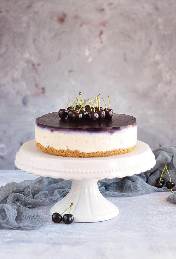 cseresznyés ricotta mousse torta recept