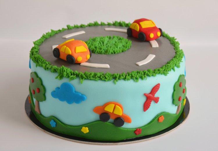 autós torta - autótorta ötletek