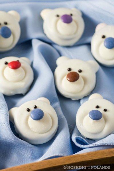 Cuki jegesmedve keksz adventra