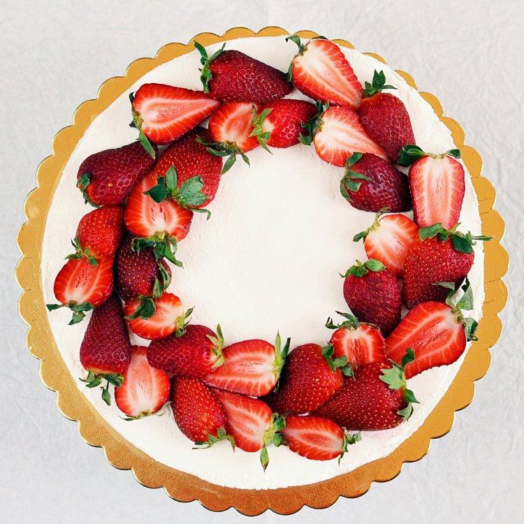 Cukormentes epres túrótorta recept sütés nélkül - eritrittel és steviával