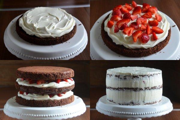 epres brownie torta lépésről-lépésre
