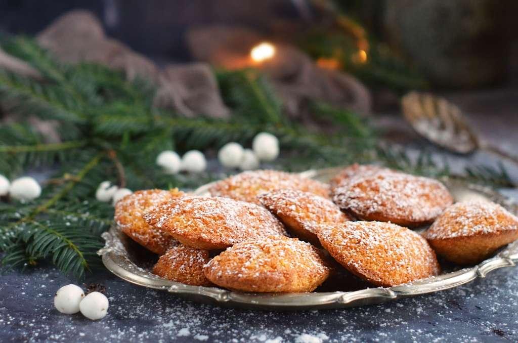 Adventi mézeskalácsos madeleine recept