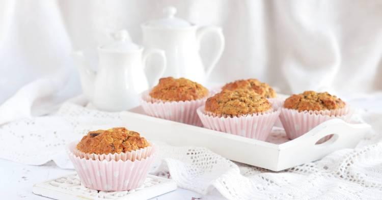 Mogyoróvajas banános muffin recept