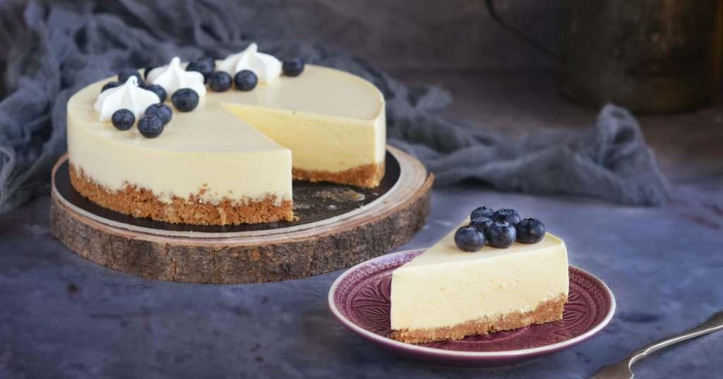 Sajt mousse torta - mousse sajttorta recept - sajtkrém mousse