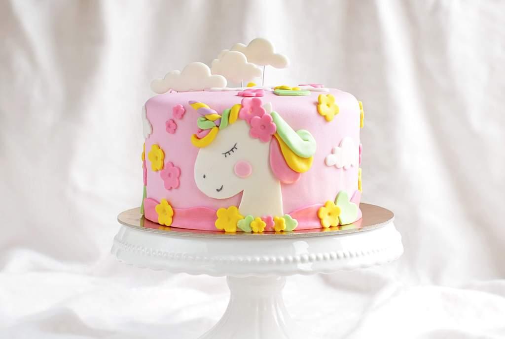unikornis torta készítése házilag