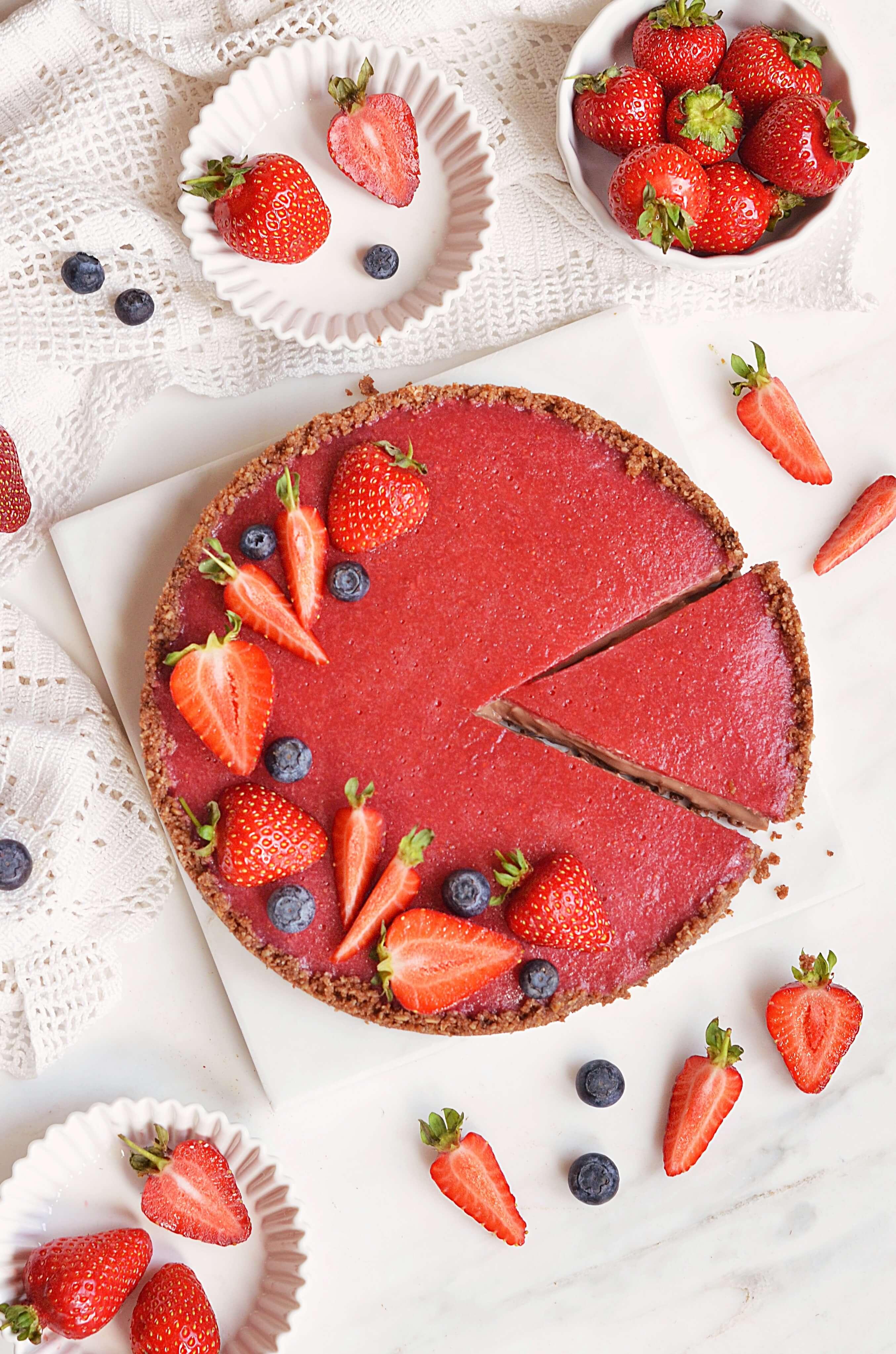 epres mogyorókrémes tart sütés nélkül