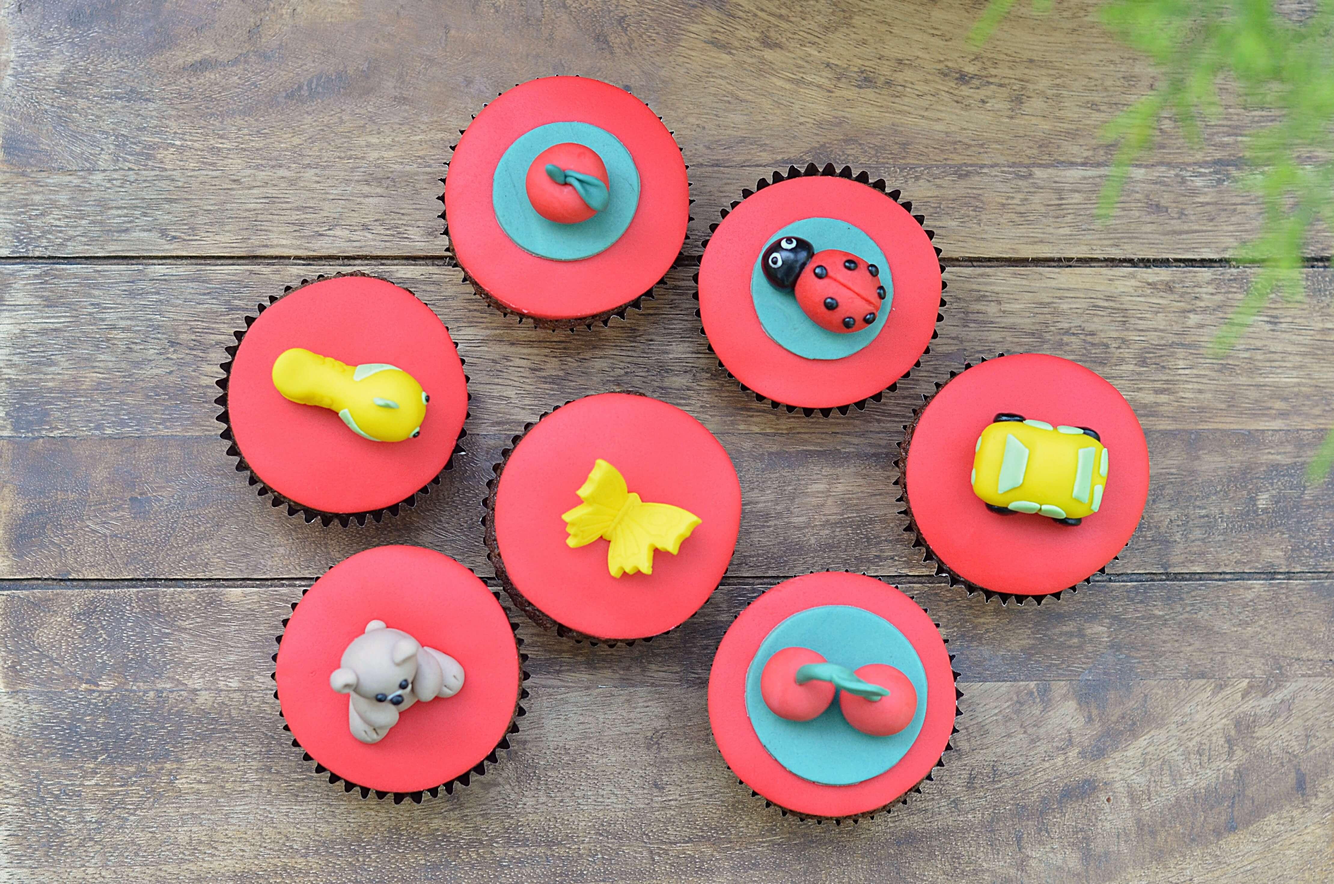 ovis ballagási muffin - cupcake óvodai ballagásra